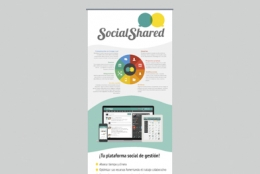 Roll up design - Social Shared